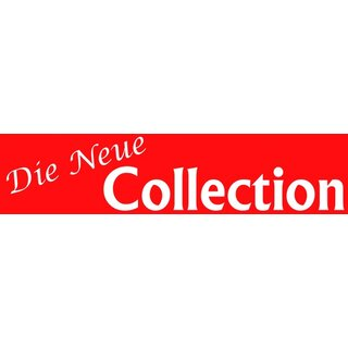 Ankleber Die neue Collection rot